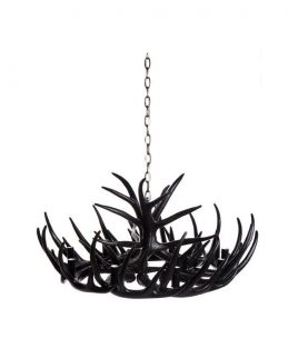 antler_chandelier_nine_arm_black