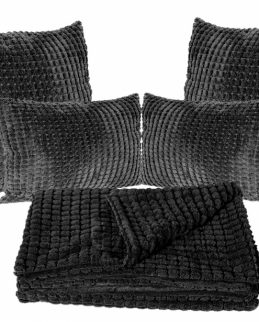 plush-cushion-throw-set-charcoal