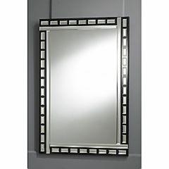 bevelled art deco mirror