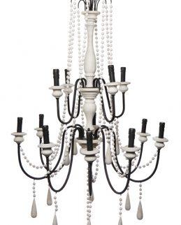 hampton chandelier large