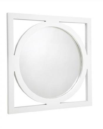 stockton mirror large white