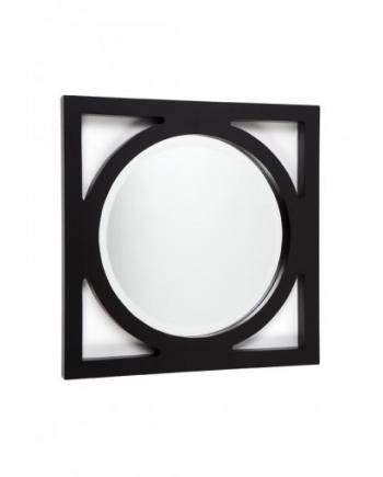 stockton mirror small black