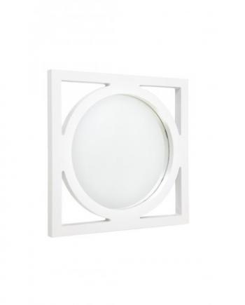 stockton mirror small white