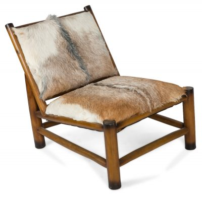 Tokyo+Goat+hide+Chair+With+Wooden+Legs