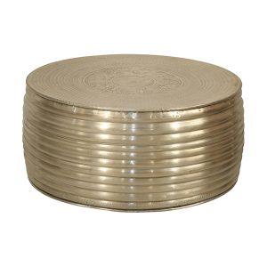 Marrakesh Round Aluminium coffee table