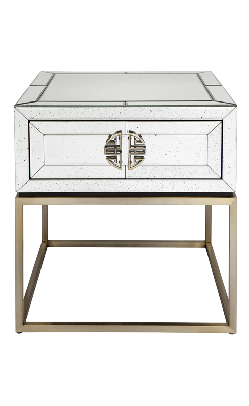 Rochester Mirror Lamp Table Inhouse Collections